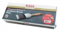 DuPont Brush 3 piece Premier Advanced Synthetic Box Set