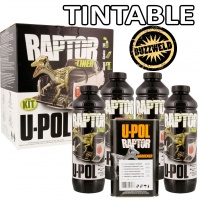 RAPTOR: Durable Bed Liner + Protective Coating TINTABLE glass flake optional