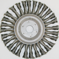 HD Wire Brush Wheel Twist Knott for angle grinder